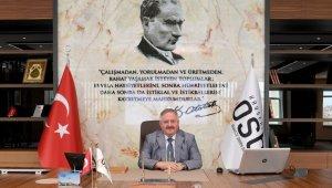 """Kayseri OSB Yönetim Kurulu Başkanı Tahir Nursaçan, """"Şehit ve gazilerimizin aileleri en kutsal emanetimizdir"""""""