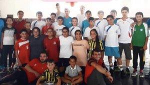 Kayseri'de pandemi döneminde hentbola büyük ilgi
