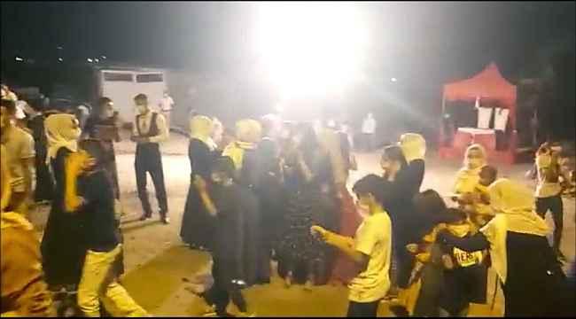 Kına gecesine katılan 28 kişiye 31 bin 536 lira sosyal mesafe cezası