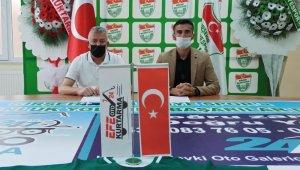 Kırşehir Belediyespor'a oto kurtarmacı sponsor oldu