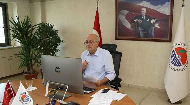 Kızıltan, TOBB Ticaret ve Sanayi Odaları Konsey Toplantısında sorun ve talepleri anlattı