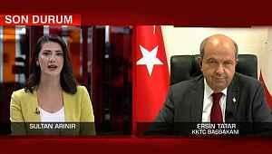 KKTC Başbakanı CNN Türk'e konuştu:
