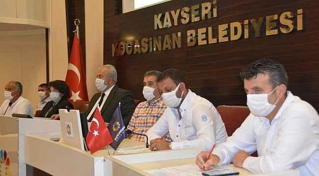 Kocasinan, ihalede 19 milyon 362 bin Türk lirası gelir elde etti