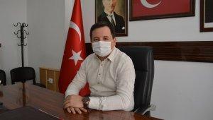 Korona virüsü yenen başkan Sancaktar, göreve başladı