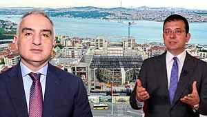 Kültür ve Turizm Bakanı Ersoy'un İBB Başkanı İmamoğlu'ndan bir ricası var