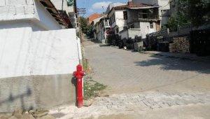 Küplü köyü, olası yangınlarda acil müdahaleye hazır