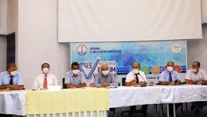 Kütahya'da Eğitim Bölgesi Müdürler Kurulu toplantıları