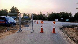 Kütahya'da karantinaya Demirciören'de sıkı önlemler alındı