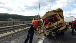 Kuzey Marmara Otoyolunda yolunda kaza: 1 yaralı