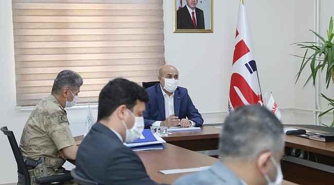 Mardin'de 112 Acil Çağrı Merkezi İl Koordinasyon Komisyonu toplandı