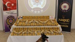 Mardin'de 420 kilogram eroin ele geçirildi