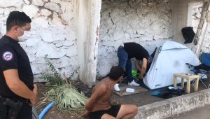 Marmaris'te plaj hırsızı yakalandı