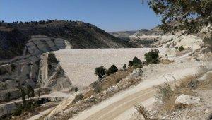 Mersin Aksıfat Barajında gövde dolgusu tamamlandı