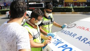 Mersin'de 2 bin 358 kişiye 2 milyon 122 bin 200 lira maske cezası