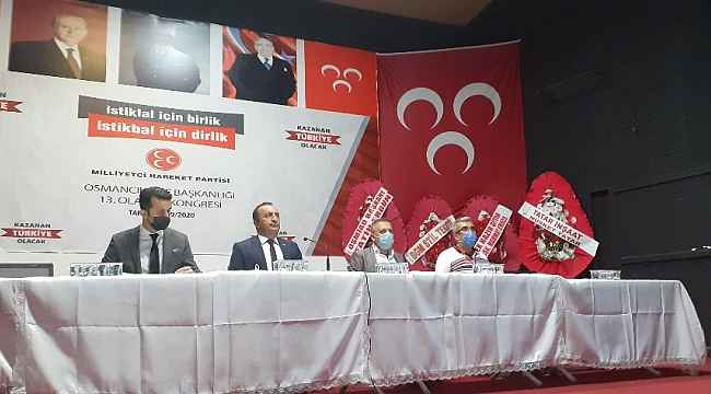 MHP Osmancık'ta tek aday, tek listeli kongre