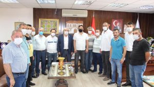 MHP'den Başkan Şahin'e ziyaret
