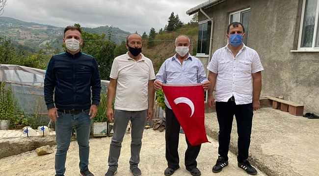 MHP'den gazilere anlamlı ziyaret