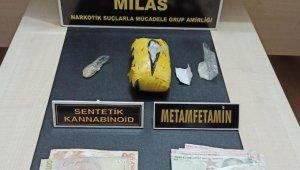 Milas'ta uyuşturucu operasyonu: 3 gözaltı