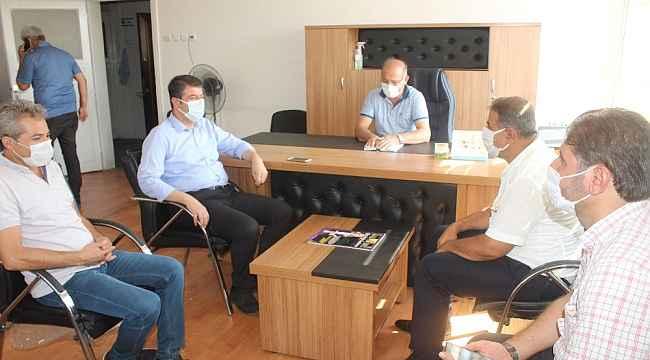 Milletvekili Tutdere, Başkan Olgun ile bir araya geldi