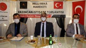 Milli Beka Hareketi Erzincan il istişare toplantısı düzenlendi