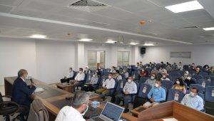 Mobil sağlık ekiplerinin Covid-19 ile mücadelesi değerlendirildi