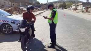 Motosikletlere 'Yaman01' denetimi