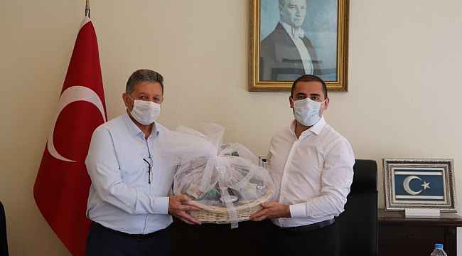 NTO Başkanı Arslan, Sultanhisar Kaymakamı Aydemir'i ziyaret etti
