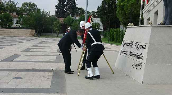 Osmaniye'de 19 Eylül Gaziler Günü Devlet Bahçesi Meydanı'nda kutlandı