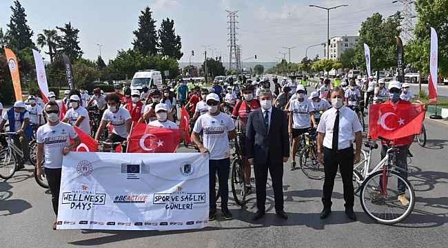 """Osmaniye'de """"Avrupa Spor Haftası"""" etkinlikleri bisiklet turuyla başladı"""