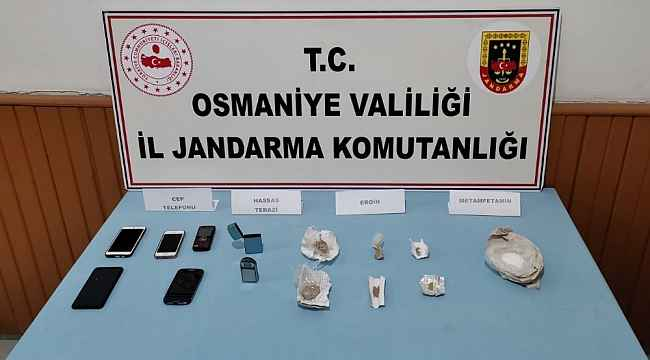 Osmaniye'de uyuşturucu operasyonu: 3 tutuklama