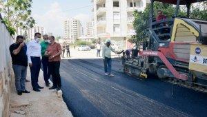 """Özyiğit: """"Akkent'te artık su baskınları yaşanmayacak"""""""