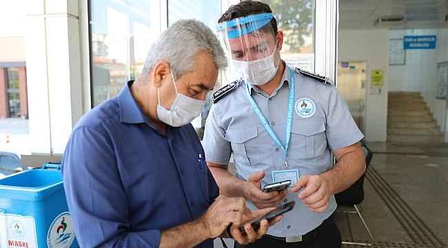 Pamukkale Belediyesi'ne HES Kodu olmayan giremiyor