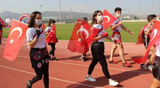 """""""Avrupa Spor Haftası"""" etkinleri Korona virüs önlemleri altında yapıldı"""
