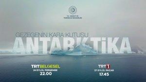 """""""Gezegenin Kara Kutusu: Antarktika"""" belgeselinin ilk gösterimi Külliye'de yapıldı"""