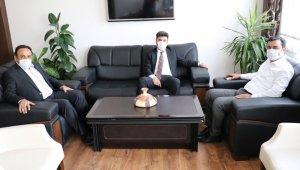 Rektör Karacoşkun'dan Kaymakam Soysal'a hayırlı olsun ziyareti
