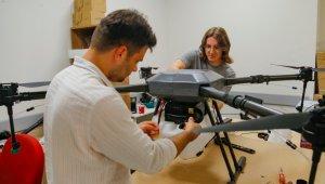 Rize'deki zorlukları gören mühendis yerli tarımsal drone tasarladı