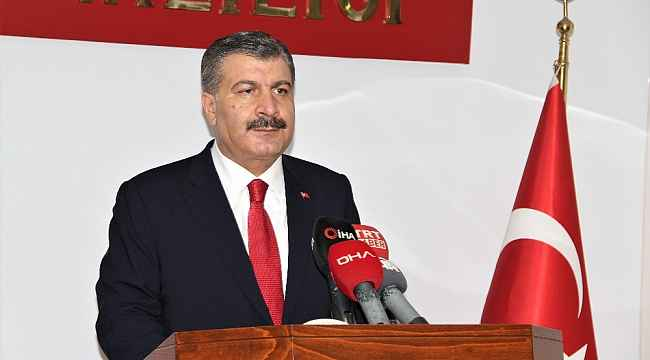 """Sağlık Bakanı Koca: """"Aydın'da son bir haftada geçen aya göre düşüş görüldü"""""""