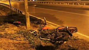 Samsun'da motosiklet kazası: 1 ölü