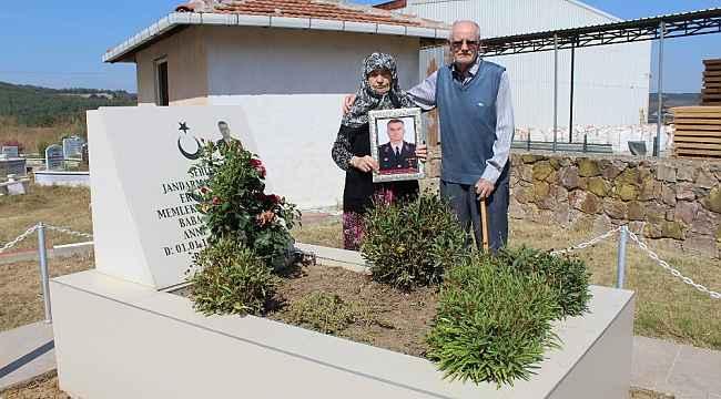 """Şehit Binbaşı Kurt'un ailesi: """"Türk Silahlı Kuvvetlerimizden Allah razı olsun"""""""