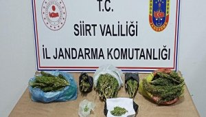 Siirt'te uyuşturucu taciri kıskıvrak yakalandı