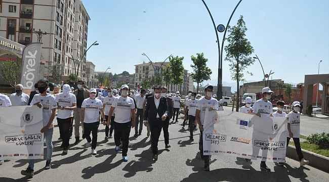 Şırnak'ta spor ve sağlık günleri etkinliği
