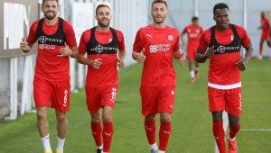 Sivasspor, Ankaragücü maçının hazırlıklarına başladı