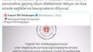 Sivasspor'dan Antalyaspor'a geçmiş olsun mesajı