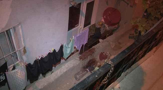 Sultangazi'de bir kişi balkonda oturduğu sırada silahla vurularak yaralandı
