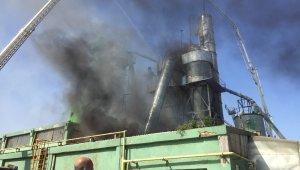 Sunta fabrikasında korkutan yangın