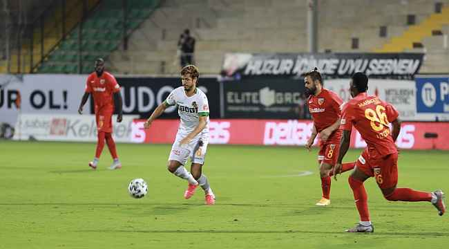 Süper Lig: Aytemiz Alanyaspor: 1 - Hes Kablo Kayserispor: 0