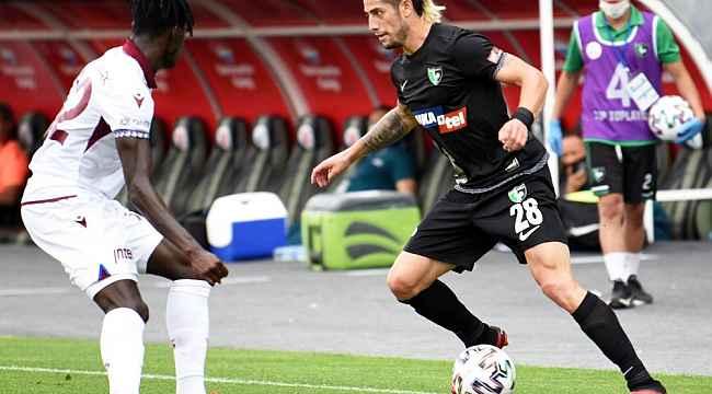 Süper Lig: Yukatel Denizlispor: 0 - Trabzonspor: 0
