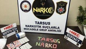 Tarsus'ta uyuşturucu operasyonlarında 1 kişi tutuklandı