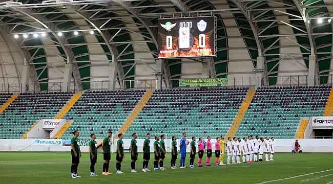 TFF 1. Lig: Akhisarpor: 0 - Tuzlaspor: 0