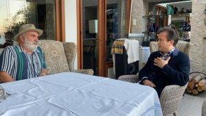 Tuzla Belediye Başkanı Yazıcı'dan Halil Sezai'nin darp ettiği yaşlı adama ziyaret